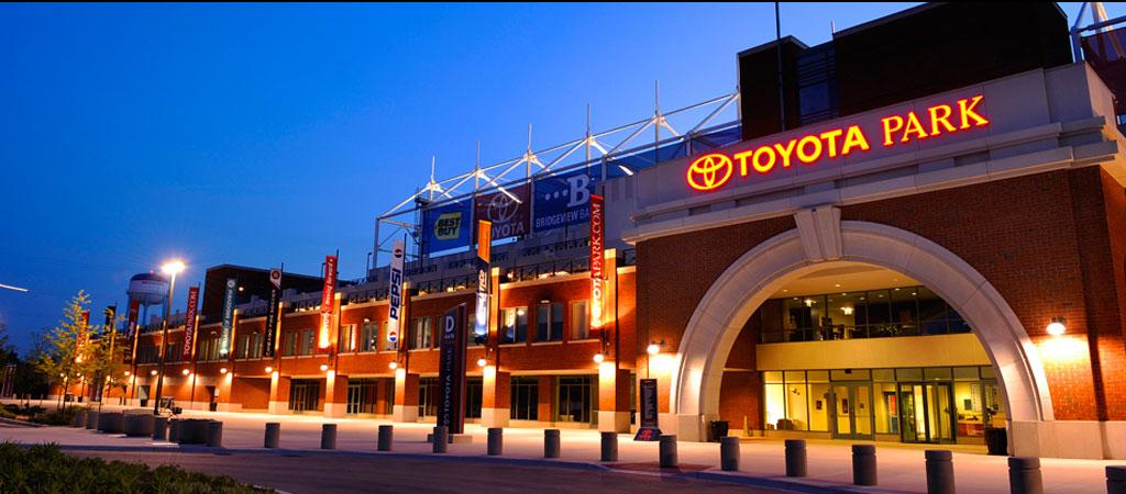 Toyota Park Professional Soccer Stadium